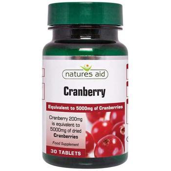 商品Natures Aid Cranberry 200mg 30 tablet图片
