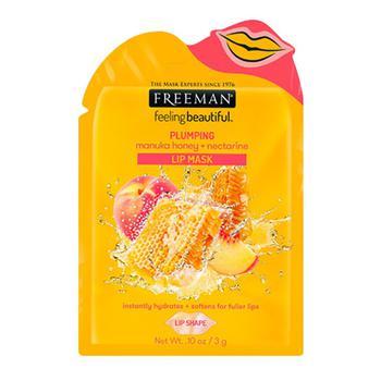 商品Plumping Manuka Honey And Nectarine Lip Mask Sachet By Freeman, 0.10 Oz图片