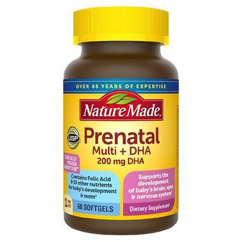 商品孕妇综合维生素(含DHA)软胶囊 60粒图片