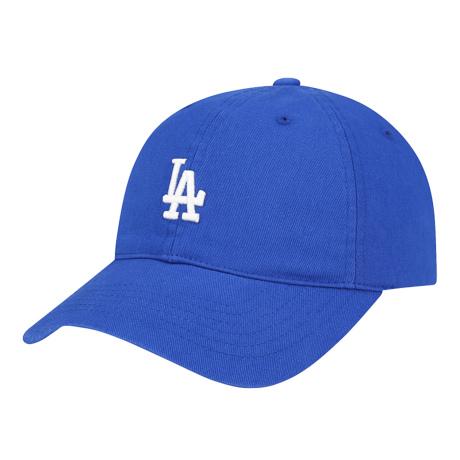 商品【韩国直邮|包邮包税】MLB LA复古小Logo棒球帽 蓝色白标图片