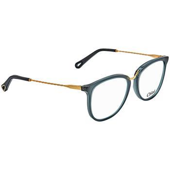 商品Chloe Ladies Blue Square Eyeglass Frames CE2731 416 53图片