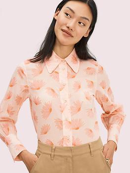 商品falling flower voile blouse图片