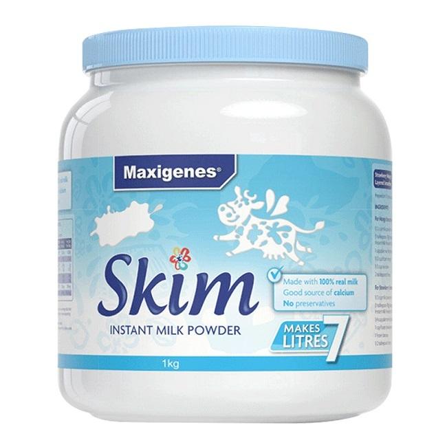 商品美可卓 大胖奶脱脂 高钙奶粉(蓝胖子) 1千克图片