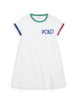 商品Little Girl's Logo-Print Cotton T-Shirt Dress图片