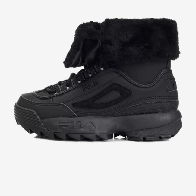 商品【韩国直邮|包邮包税】斐乐 FILA 刀锋棉鞋 保暖 黑色图片