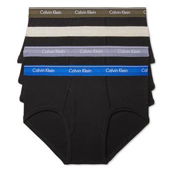 商品Men's 4-Pack Cotton Classic Briefs图片