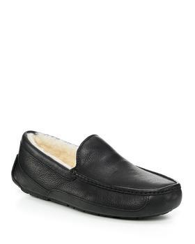 商品Men's Ascot Leather Slippers图片