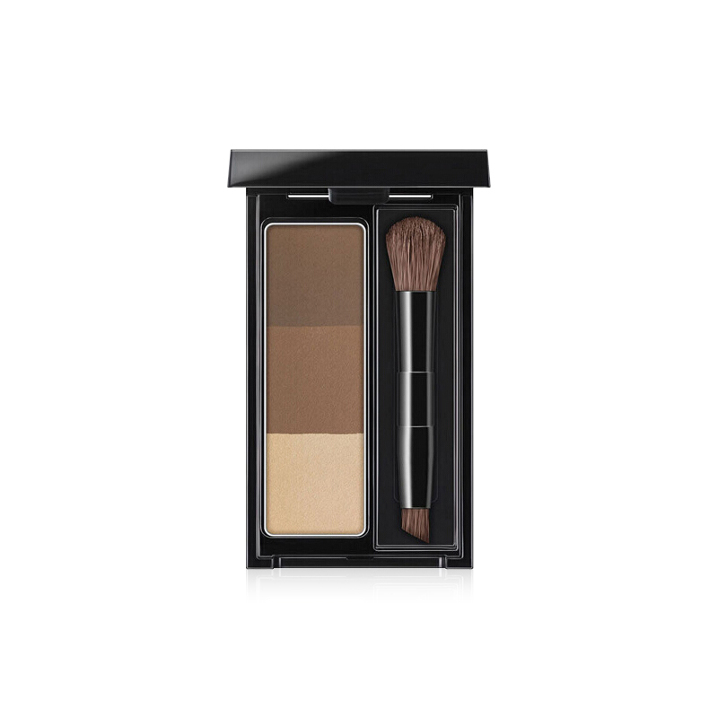 商品KATE/凯朵立体造型三色眉粉 眉粉鼻影高光三合一图片