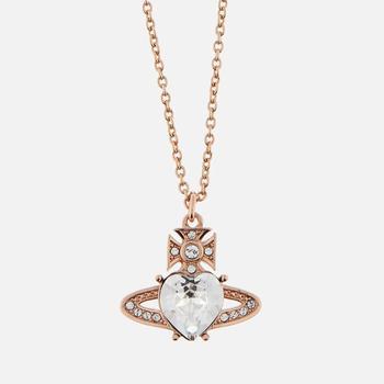 商品Vivienne Westwood Women's Ariella Pendant - Pink Gold Crystal图片