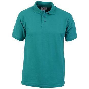 商品Absolute Apparel Mens Precision Polo (Emerald)图片