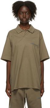 商品Taupe Jersey Polo图片