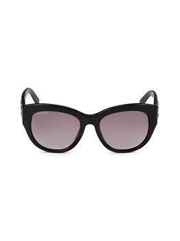 商品54MM Cat Eye Sunglasses图片