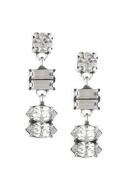 商品Ellie Swarovski Crystal Drop Earrings图片