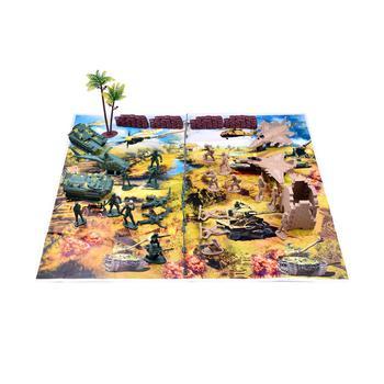 商品232-Piece Army Men Action Figures Army Toys Set of WW2, Toy Soldiers, Military-Like Playset with a Map, Toy Tanks, Planes, Flags, Soldier Figures, Fences and Accessories图片