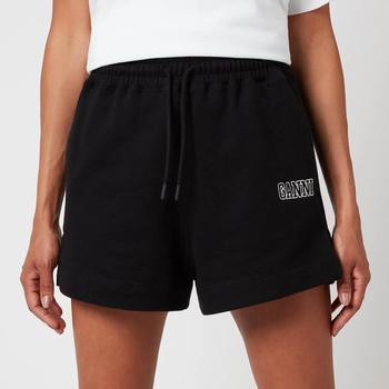 商品Ganni Women's Isoli Shorts - Black图片