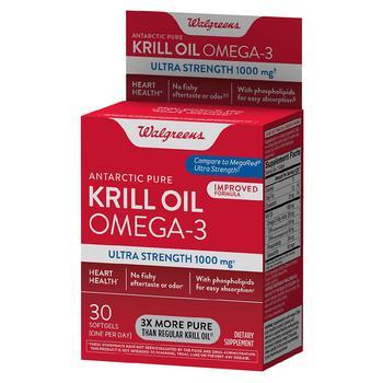 商品磷虾油 Omega-3 超强软胶囊 图片