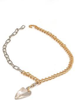 商品Marni Leaf Pendant Chain Necklace - Only One Size / Multi图片