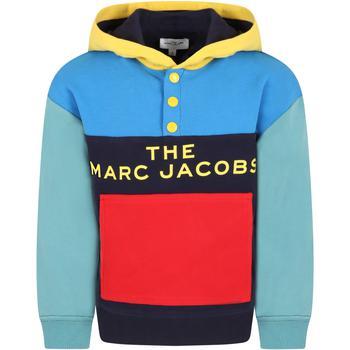 商品Little Marc Jacobs Multicolor Sweatshirt For Boy With Logo图片