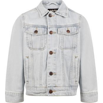 商品Classic denim jacket in pale white图片