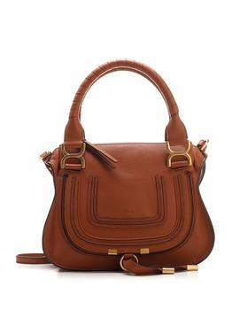 商品Chloé Marcie Tote Bag - Only One Size / Brown图片