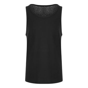 商品AWDis Just Ts Mens Tri-Blend Vest (Solid Black)图片