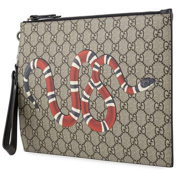 商品Gucci男士手袋 棕色 473904 GZN1N8666图片