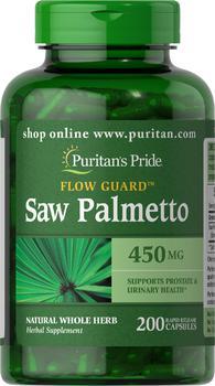 商品锯棕榈复合提取物胶囊 防脱发 改善前列腺 450 mg 200粒/瓶图片