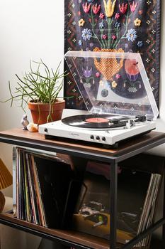 商品Audio-Technica LP60X-BT 蓝牙唱片机 黑胶唱片机 复古图片