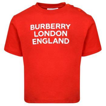 商品Mini Ble Red Short Sleeve T Shirt图片