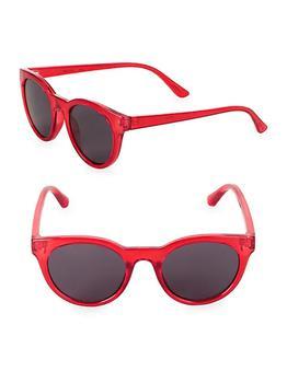 商品Fizz Translucent Round Sunglasses图片