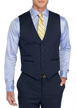 商品Solid Stretch Suit Vest图片