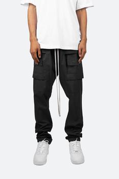 商品Drop Crotch Cargo Pants - Black图片