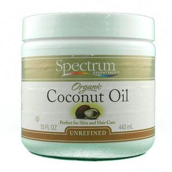 商品Spectrum Essentials Organic Coconut Oil, Unrefined - 15 Oz图片