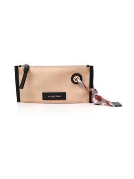 商品See by Chloé Small Beth Cosmetic Bag - Only One Size / Beige图片
