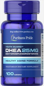 商品DHEA 25 mg 100 Tablets图片