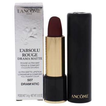商品Lancome / Labsolu Rouge Lipstick 507 Dramatic 0.14 oz (4 ml)图片