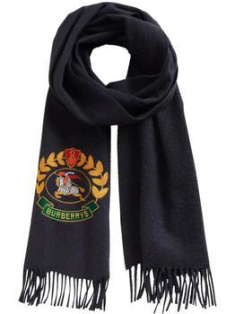 商品Burberry scarf with archive logo图片