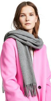 商品女士 Canada 流苏羊毛围巾披肩图片