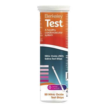 商品Berkeley Test Nitric Oxide Heart Health Saliva Test Strips, 50 Ea图片