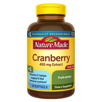 商品Cranberry + Vitamin C Softgels Value Size图片