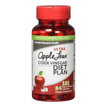 商品Ultra Apple Lean Cider Vinegar Diet Plan Rapid Release Capsules, 101 Ea图片