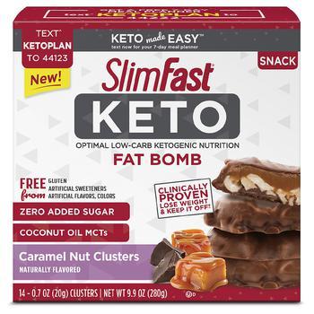 商品Keto Fat Bomb Snack Caramel Nut Clusters图片