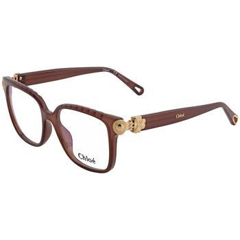 商品蔻依女士棕色方形眼镜框 镜架CE2732 210 53图片