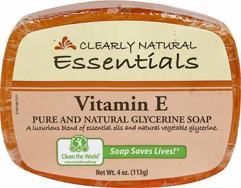 商品Clearly Natural® Vitamin E Glycerine Soap 4 oz Bar图片