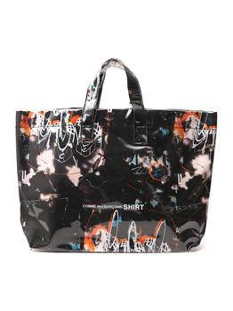 商品Comme des Garçons Shirt Futura Print Tote Bag - Only One Size / Multi图片