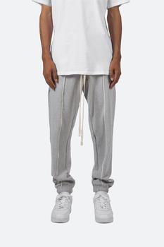 商品Raw Pleated Sweatpants - Grey图片