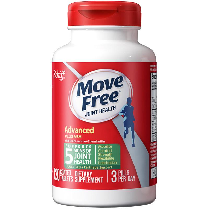 商品MOVEFREE氨糖软骨素绿瓶120粒图片