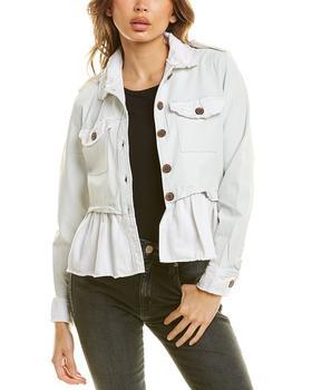 商品Jakett Aubrey Burnished Leather Jacket图片