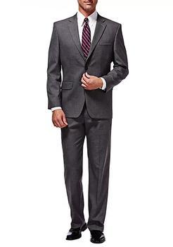 商品Premium Stretch Sharkskin Classic Fit Suit Coat图片