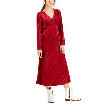 商品Cranberry Velvet Dress图片
